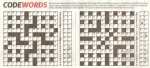 Codewords No 1285 - Newspaper Version