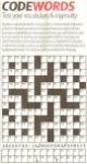 Codewords No 1291 - newspaper version